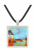 Flood at Port Manly by Sisley -  Museum Exhibit Pendant - Museum Company Photo