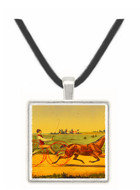 Flora Temple - Currier and Ives -  Museum Exhibit Pendant - Museum Company Photo