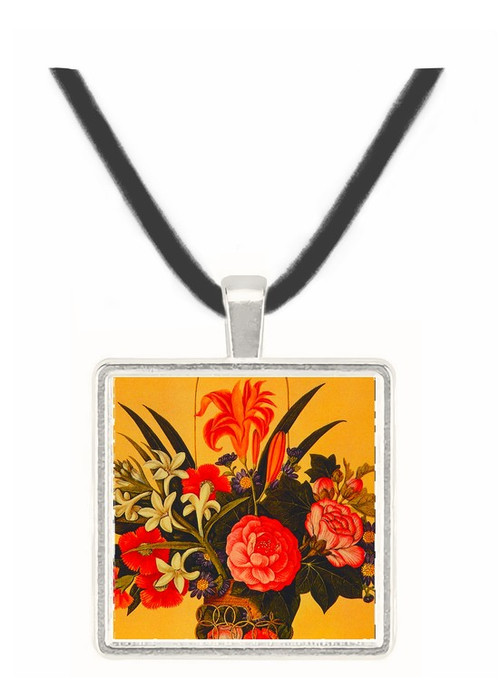 Flower Arrangement - unknown artist -  Museum Exhibit Pendant - Museum Company Photo