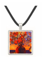 Flowers and Cats - Paul Gauguin -  Museum Exhibit Pendant - Museum Company Photo