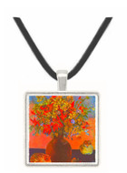 Flowers and Cats by Gauguin -  Museum Exhibit Pendant - Museum Company Photo