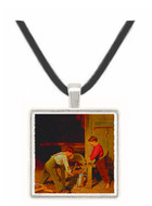 Force and Skill - Charles Caleb Ward -  Museum Exhibit Pendant - Museum Company Photo