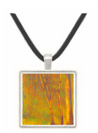 Forest in Pontaubert by Seurat -  Museum Exhibit Pendant - Museum Company Photo