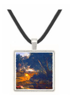 Forest of Fontainebleau by Corot -  Museum Exhibit Pendant - Museum Company Photo