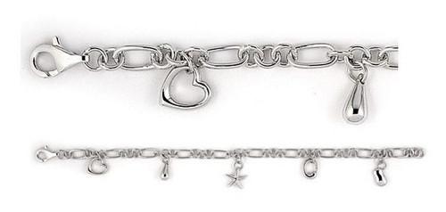 Five Charm - Dangling Charm Bracelet - Photo Museum Store Company
