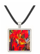 Foxes by Franz Marc -  Museum Exhibit Pendant - Museum Company Photo
