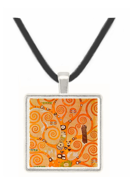 Frieze II by Klimt -  Museum Exhibit Pendant - Museum Company Photo