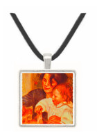 Gabrielle and Jean - Auguste Renoir -  Museum Exhibit Pendant - Museum Company Photo