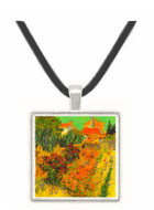 Garden Behind a House -  Museum Exhibit Pendant - Museum Company Photo