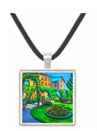 Garden image by Macke -  Museum Exhibit Pendant - Museum Company Photo