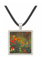 Garden in the street Cortot, Montmartre by Renoir -  Museum Exhibit Pendant - Museum Company Photo