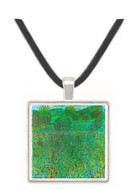 Garden landscape by Klimt -  Museum Exhibit Pendant - Museum Company Photo