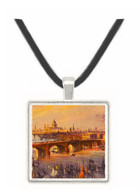 General View of London - William H. Bartlett -  Museum Exhibit Pendant - Museum Company Photo