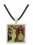 Girl at Piano by Cezanne -  Museum Exhibit Pendant - Museum Company Photo