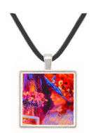 Girl Reading - Auguste Renoir -  Museum Exhibit Pendant - Museum Company Photo