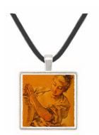 Girl with a Jug - Francois Boucher -  Museum Exhibit Pendant - Museum Company Photo