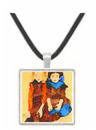 Girls by Schiele -  Museum Exhibit Pendant - Museum Company Photo
