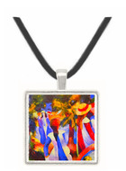Girls in the Open by August Macke -  Museum Exhibit Pendant - Museum Company Photo