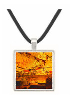 Great Hall of Bulls - Lascaux - Dordogne - France -  -  Museum Exhibit Pendant - Museum Company Photo