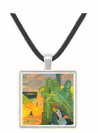 Green Christ by Gauguin -  Museum Exhibit Pendant - Museum Company Photo