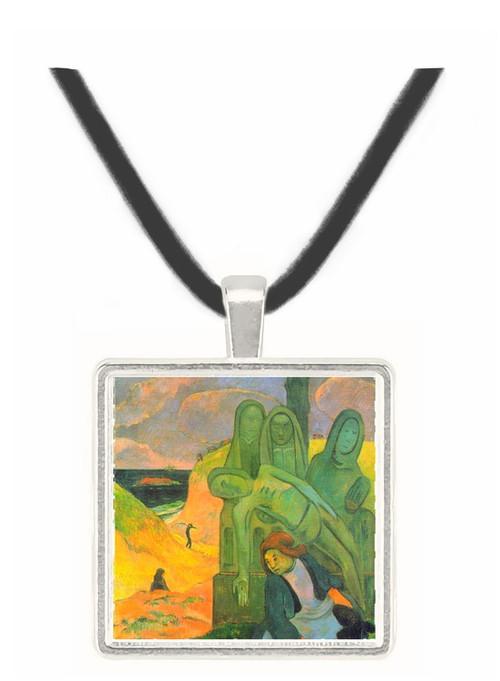 Green Christ by Gauguin -  Museum Exhibit Pendant - Museum Company Photo
