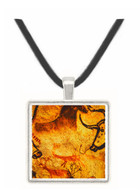 Group of Bulls -  Horses and Stags - Lascaux - Dordogne - France -  -  Museum Exhibit Pendant - Museum Company Photo
