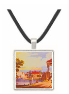 Hampton Court Bridge - William Sidney Mount -  Museum Exhibit Pendant - Museum Company Photo
