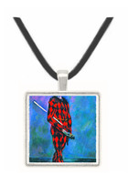 Harlequin by Cezanne -  Museum Exhibit Pendant - Museum Company Photo