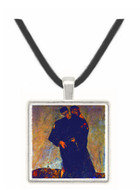 Hermits by Schiele -  Museum Exhibit Pendant - Museum Company Photo