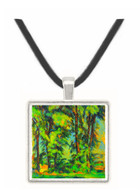 High trees in the Jas de Bouffan by Cezanne -  Museum Exhibit Pendant - Museum Company Photo