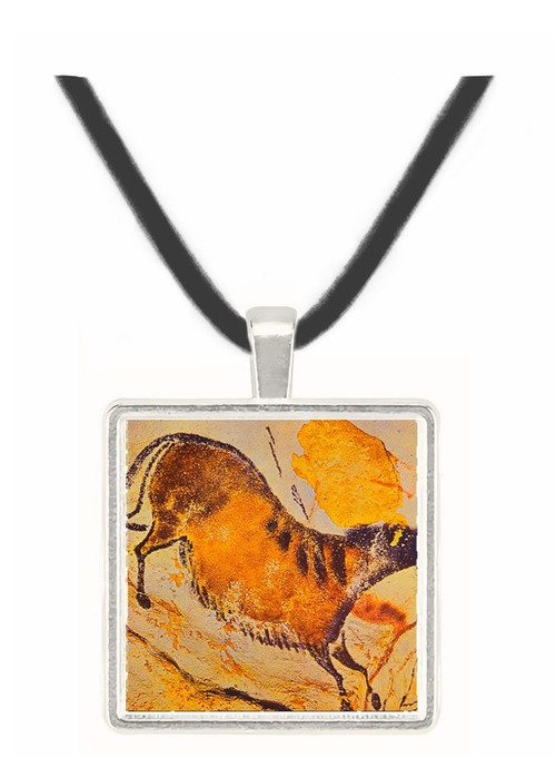 Horse - Lascaux - Dordogne - France -  -  Museum Exhibit Pendant - Museum Company Photo