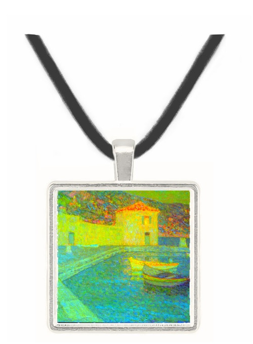 House by the Sea by Sidaner -  Museum Exhibit Pendant - Museum Company Photo