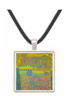 House in Attersee by Klimt -  Museum Exhibit Pendant - Museum Company Photo