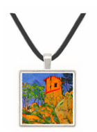 House with Walls by Cezanne -  Museum Exhibit Pendant - Museum Company Photo