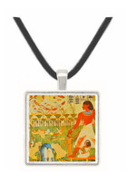 Hunting Scene - Tomb of Jeserkareseneb -  Museum Exhibit Pendant - Museum Company Photo