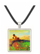 Idyl by Segantini -  Museum Exhibit Pendant - Museum Company Photo