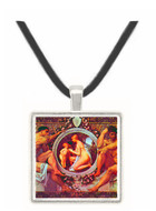Idyll by Klimt -  Museum Exhibit Pendant - Museum Company Photo