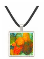 Idyll by Mondrian -  Museum Exhibit Pendant - Museum Company Photo