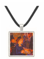 In the Cafe by Renoir -  Museum Exhibit Pendant - Museum Company Photo