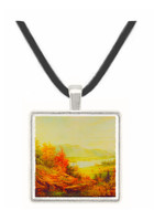 In the Catskills - Jasper F. Cropsey -  Museum Exhibit Pendant - Museum Company Photo