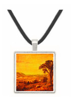 In the Valley - Jasper F. Cropsey -  Museum Exhibit Pendant - Museum Company Photo