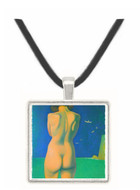 In the water by Felix Vallotton -  Museum Exhibit Pendant - Museum Company Photo