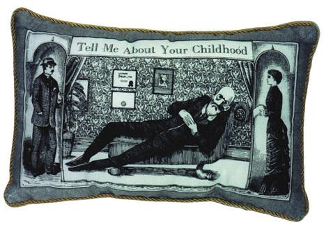 Wind Up Freud Pillow - Sigmund Freud Musical Pillow - Photo Museum Store Company