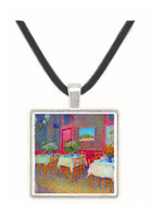 Interior of a Restaurant by Van Gogh -  Museum Exhibit Pendant - Museum Company Photo