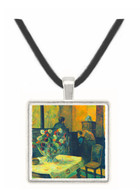 Interior of Painter of Rue Carcel by Gauguin -  Museum Exhibit Pendant - Museum Company Photo