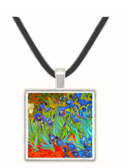 Irises -  Museum Exhibit Pendant - Museum Company Photo