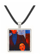 Jacques Lipchitz and his Wife - Amedeo Modigliani -  Museum Exhibit Pendant - Museum Company Photo