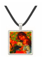 Jean Renoir and Gabrielle by Renoir -  Museum Exhibit Pendant - Museum Company Photo