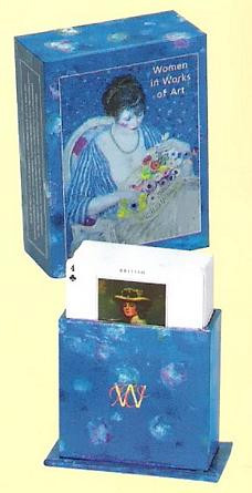 Women in Works of Art Card Game - Photo Museum Store Company