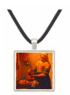 Kuchenmagd - Jan Vermeer van Delft -  Museum Exhibit Pendant - Museum Company Photo